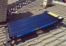 Соларна система (вакуумно-тръбна) за подгряване на бойлер 100 литра монтирана гр. Ябланица