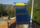 Solar hot-water system 110 l under pressure - Tsatsarovtsi village, Municipality Dragoman.