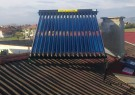 Solar collector for hot water - 200 l. boiler with heat exchanger - Voluqk village, Sofia region.