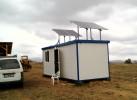 Autonomous photovoltaic hybrid system - 2,4 kW