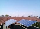 Autonomous photovoltaic hybrid system - 4 kW