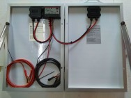 Преносим соларен куфар - 40 W
