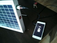 Portable solar charger - 100 W