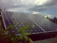 Autonomous solar system - 1 kW off grid, panels TPS 105 220 W