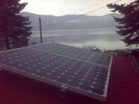 Autonomous solar system - 1 kW off grid, panels TPS 225 W