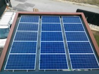 Autonomous hybrid photovoltaic plant - 6 kW