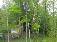 Автономна соларна система за осветление - 225 W, Ловна хижа, с. Розово
