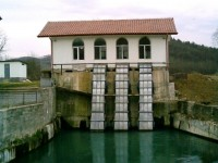 Hydro power plant Rumyantsevo